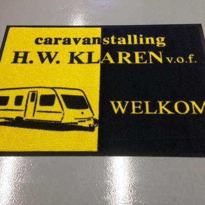 Logomat Pro voor Caravanstalling H.W. Klaren