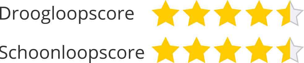 Droog- en schoonloopscore categorie deurmat met logo