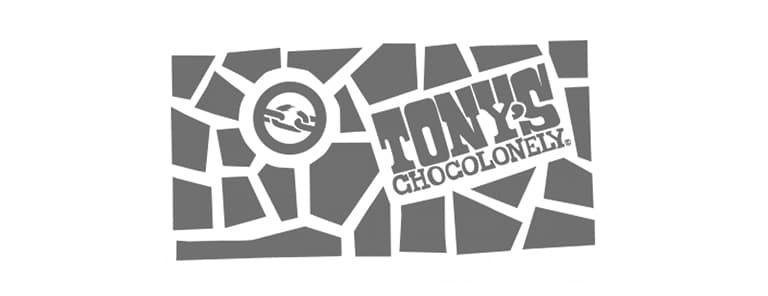 Tony Chocolonely heeft een deurmat bij de entree van het kantoor.