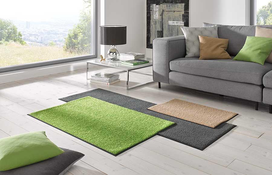 Effen matten voor thuis