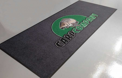Gepersonaliseerde droogloopmat voor Carp Company