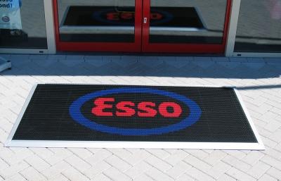 Schoonloopmat - Borstelmat voor de Esso