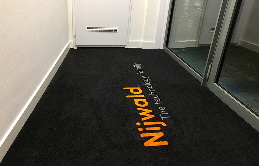 Inloopmat op maat als binnenmat (Logomat Pro)