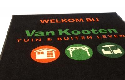 Inloopmat voor Van Kooten