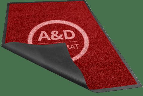 Rode loper Logomat Pro Lite kwaliteit