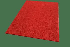 Rode loper Spaghettimat Lite kwaliteit