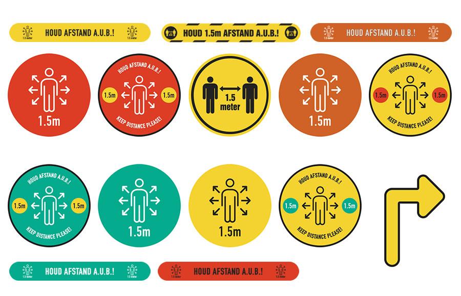 Covid 19 oplossingen stickers deel 1