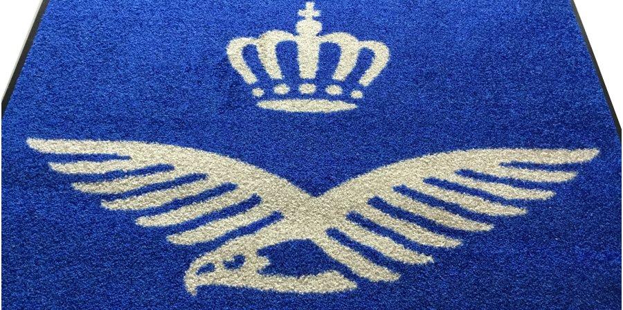 Logomat embleem luchtmacht