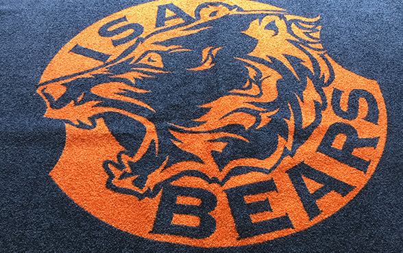 Deurmat Amsterdam Isa Bears