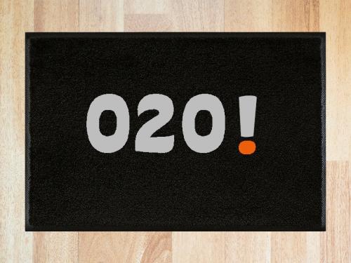 Deurmat 020 Amsterdam